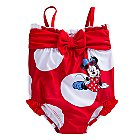 Minnie Mouse Bow Swimsuit for Baby