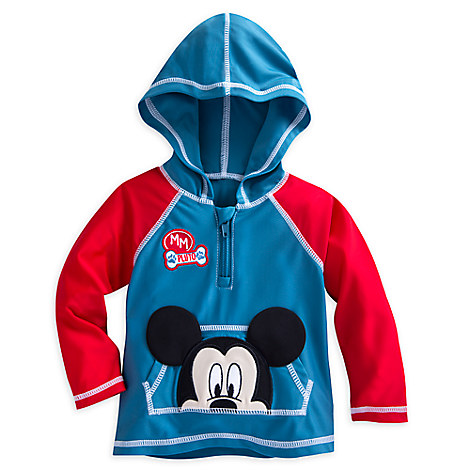 Mickey Mouse Hooded Rash Guard for Baby
