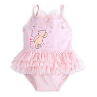 Winnie the Pooh Layette Swimsuit and Cap Set for Baby