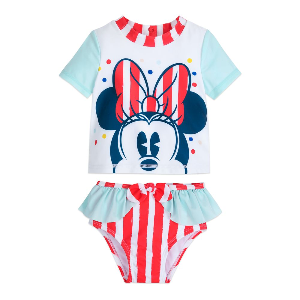 Minnie Mouse Rash Guard Swimsuit for Baby