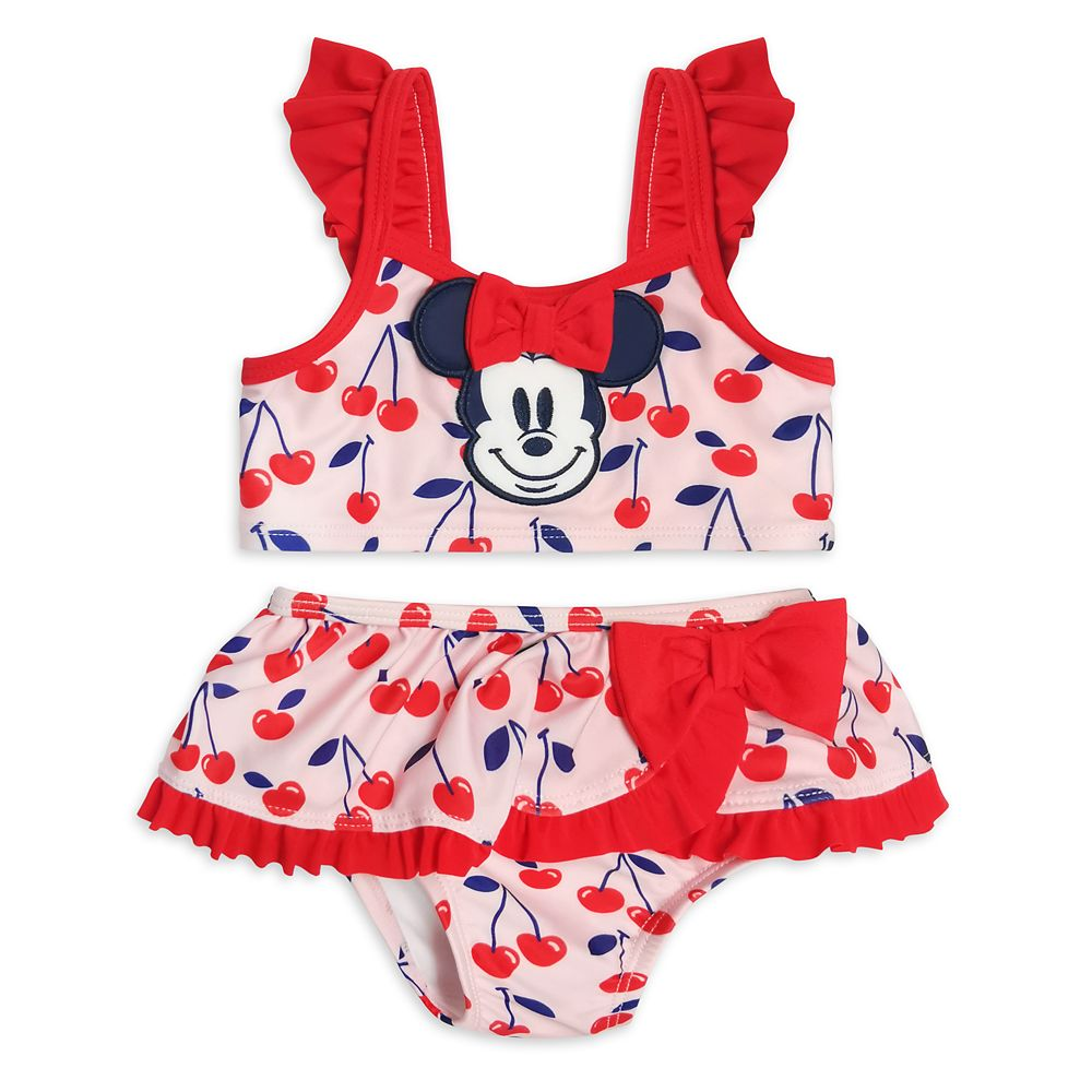 Minnie Mouse Two-Piece Swimsuit for Baby