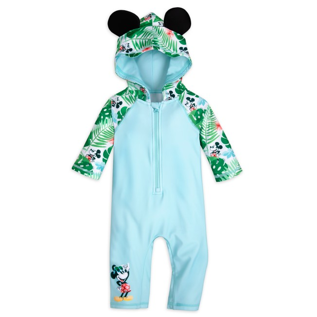 Mickey Mouse Tropical Hooded Wetsuit for Baby