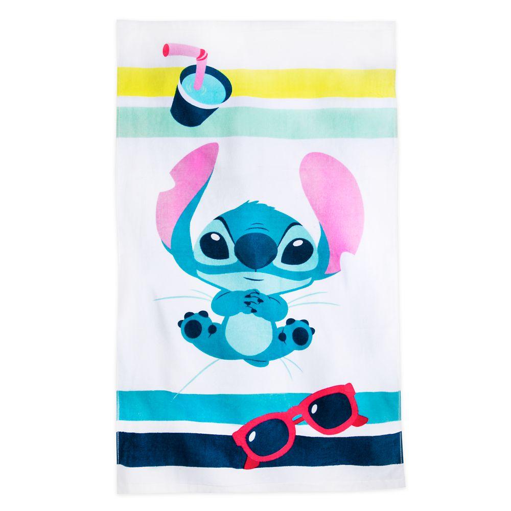 Stitch Swim Towel for Baby