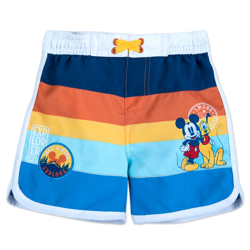 Mickey Mouse and Pluto Swim Trunks for Baby