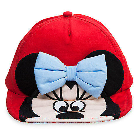 Minnie Mouse Baseball Swim Cap for Baby
