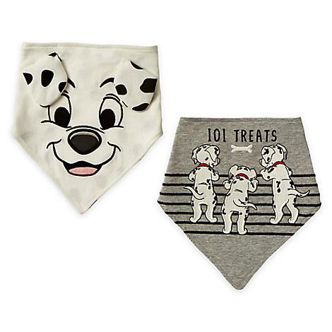 101 Dalmatians Bib Set for Baby - 2-Pack