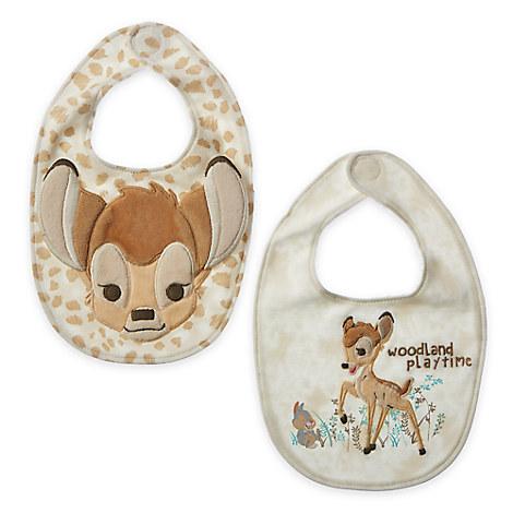 Bambi Bib Set for Baby - 2-Pack
