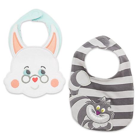 Alice in Wonderland Bib Set for Baby - 2-Pack