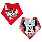 Minnie Mouse Bandana Bib Set for Baby - 2-Pack