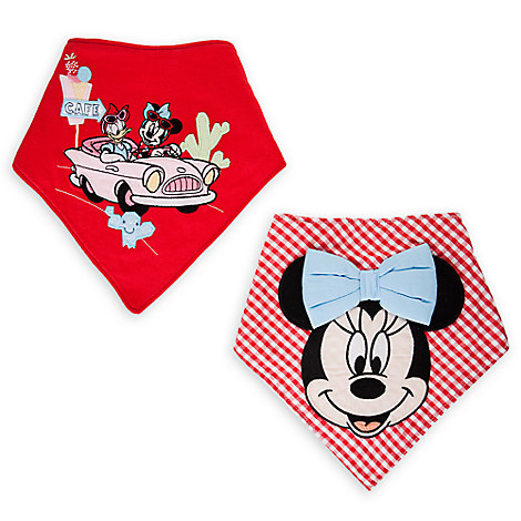 Minnie Mouse Bandana Bib Set for Baby - 2-Pack
