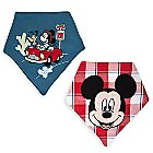 Mickey Mouse Bandana Bib Set for Baby - 2-Pack