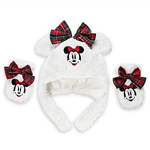 Minnie Mouse Hat And Mitts Set for Baby - Share The Magic Collection