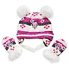Minnie Mouse Winter Hat and Mittens Set for Baby