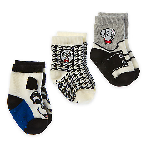 101 Dalmatians Sock Set for Baby - 3-Pack - Boys