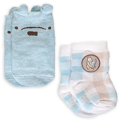 Winnie the Pooh Sock Set for Baby - 2-Pack - Boys