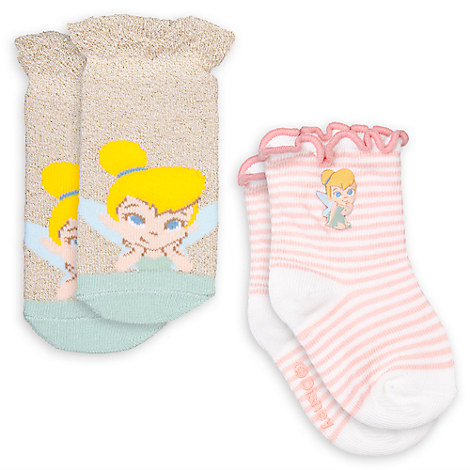 Tinker Bell Sock Set for Baby - 2-Pack