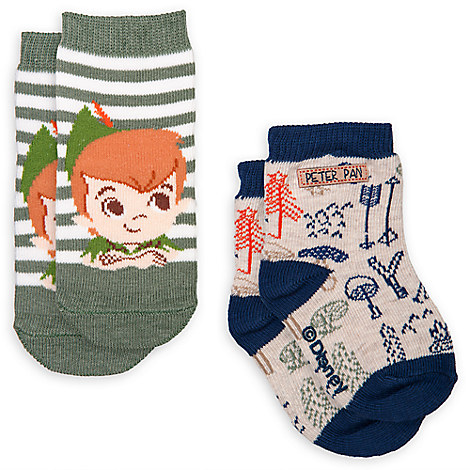 Peter Pan Sock Set for Baby - 2-Pack