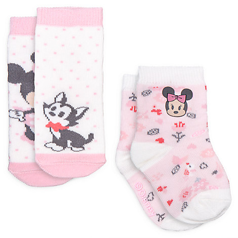Minnie Mouse Sock Set for Baby - 2-Pack