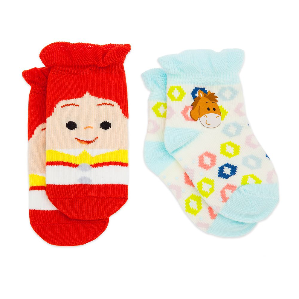 Jessie and Bullseye Socks Set for Baby – Toy Story