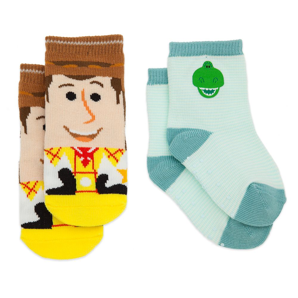 Woody and Rex Socks Set for Baby – Toy Story