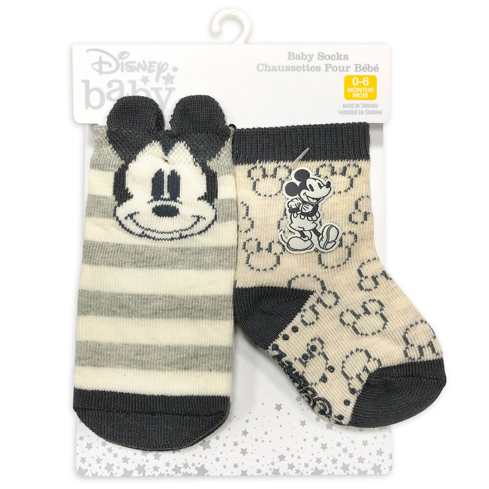 Mickey Mouse Sock Set for Baby
