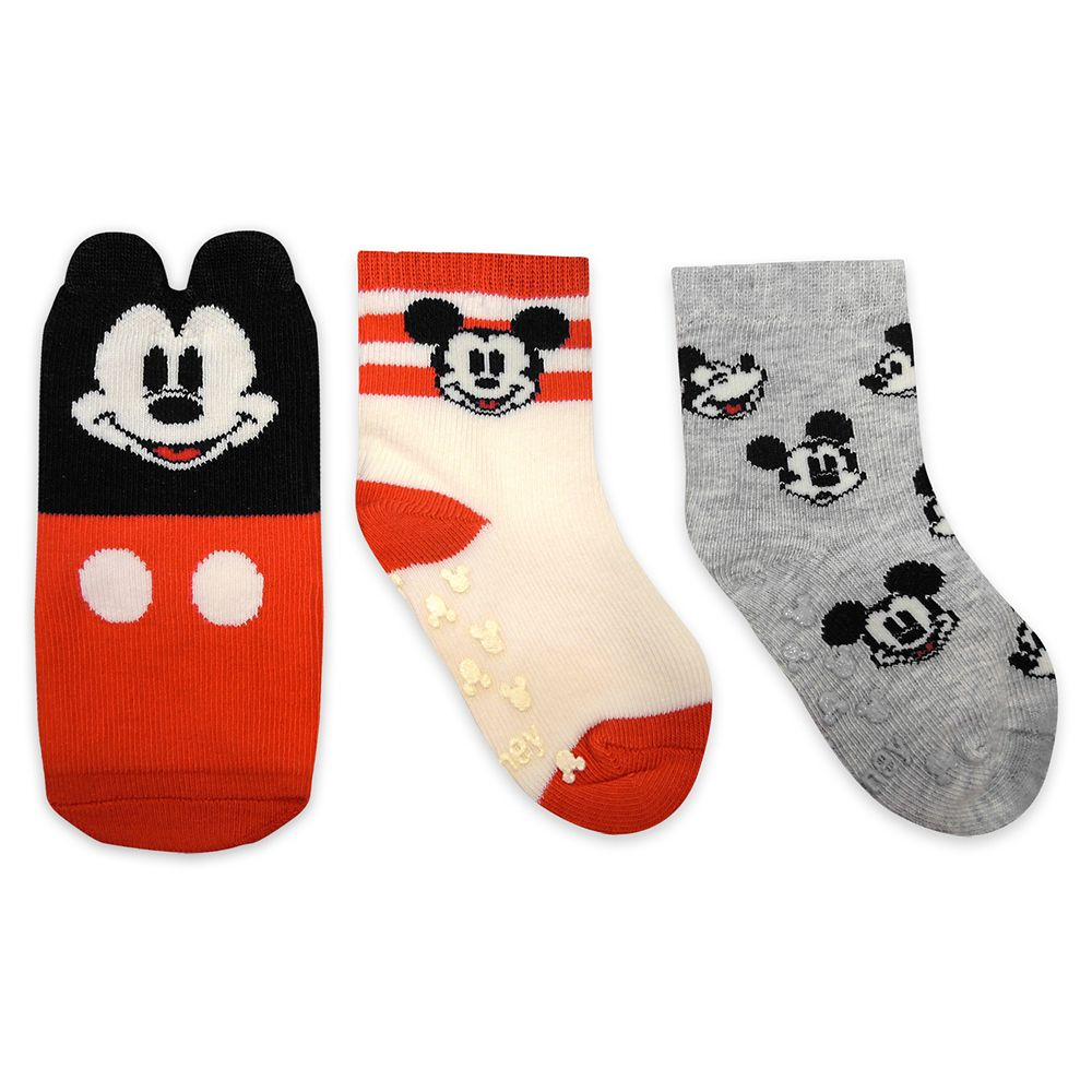 shopdisney.com - Mickey Mouse Sock Set for Baby Official shopDisney 12.99 USD