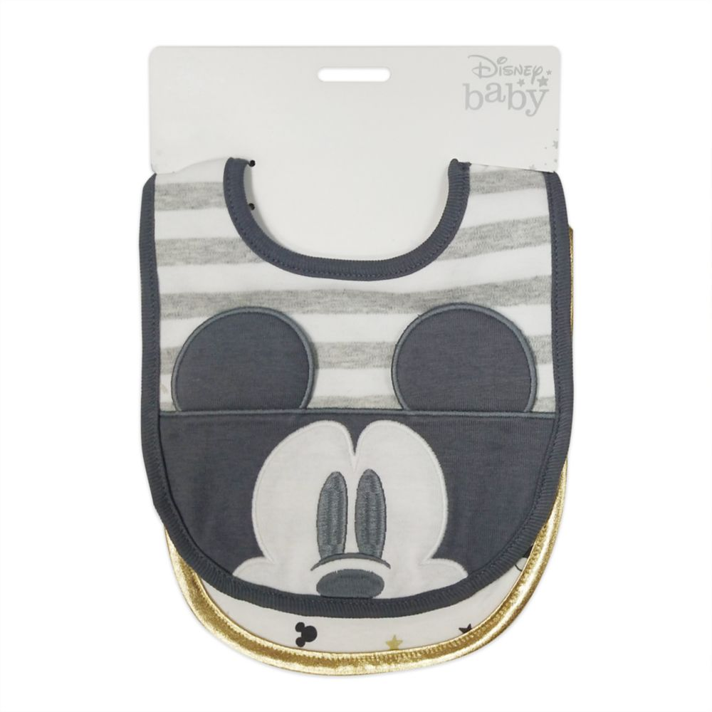 Mickey Mouse and Friends Bib Set for Baby