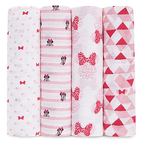 Minnie Mouse Muslin Swaddles Set by aden® by aden + anais®