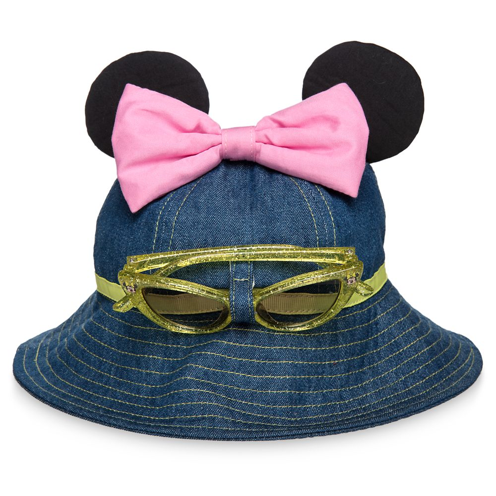 40da86a21 Minnie Mouse Hat and Sunglasses Set for Baby
