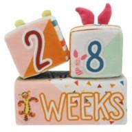 Winnie the Pooh Plush Milestone Blocks for Baby
