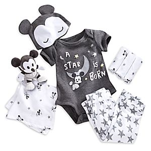Mickey Mouse Layette Gift Set for Baby