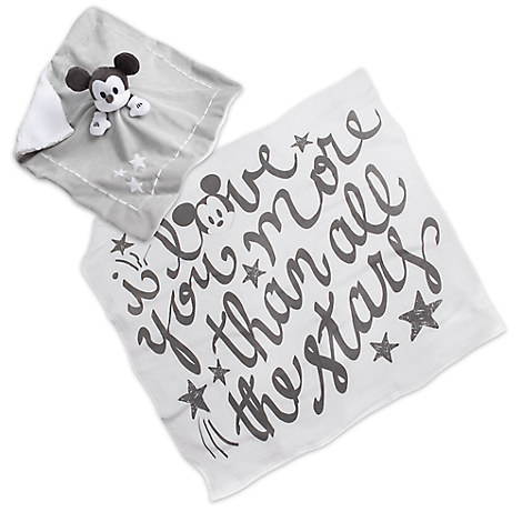 Mickey Mouse Blankie and Swaddle Gift Set for Baby