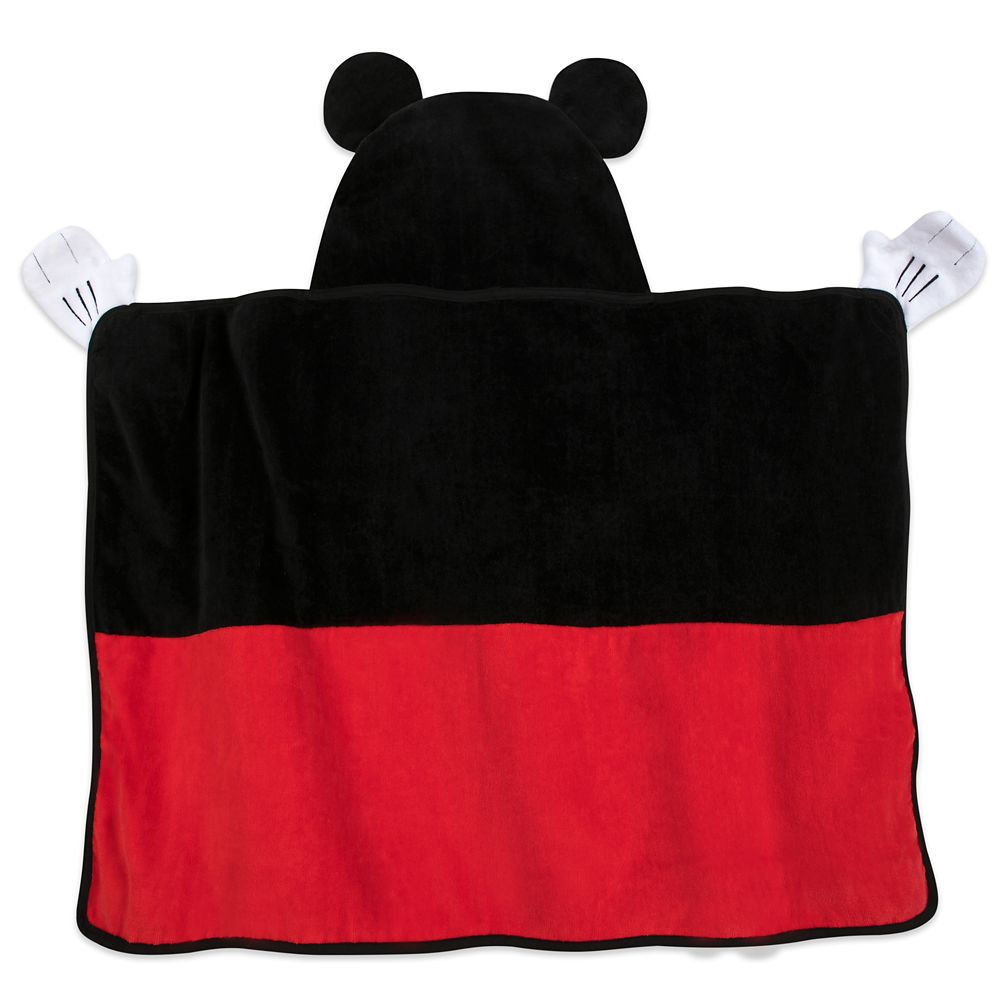Mickey Mouse Hooded Towel for Baby – Personalized