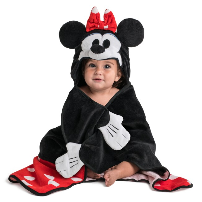 Minnie Mouse Hooded Towel for Baby