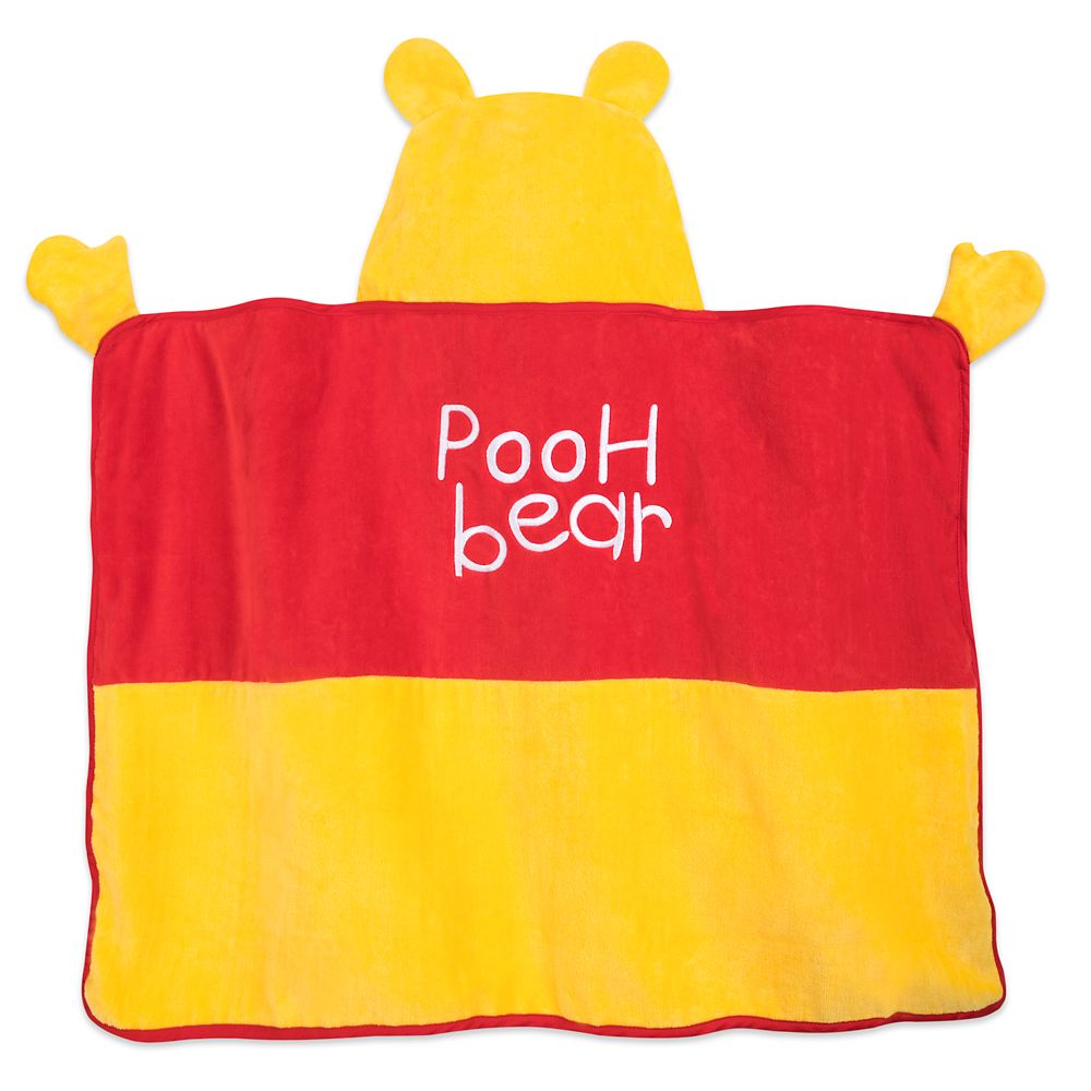 Winnie the Pooh Hooded Towel for Baby