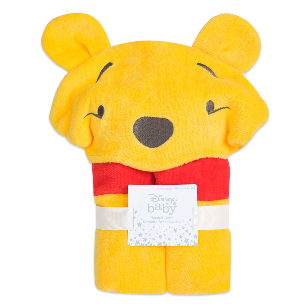 Winnie the Pooh Hooded Towel for Baby – Personalized