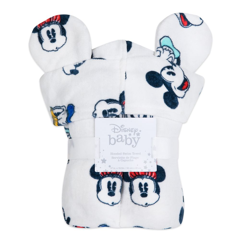 Mickey Mouse and Friends Hooded Towel for Baby