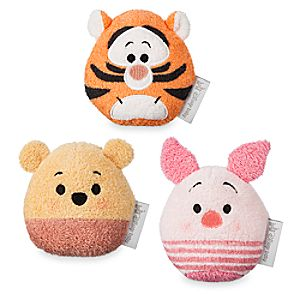 Winnie the Pooh Plush Toy Set for