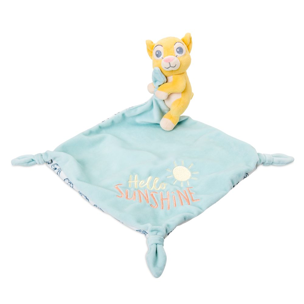 Simba Plush Blankie for Baby