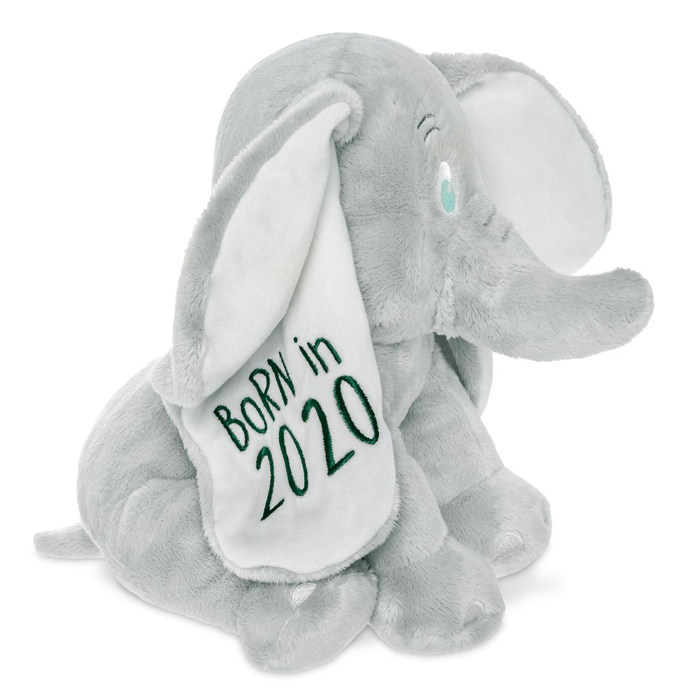 Dumbo ''Born in 2020'' Plush for Baby – Small – 11''