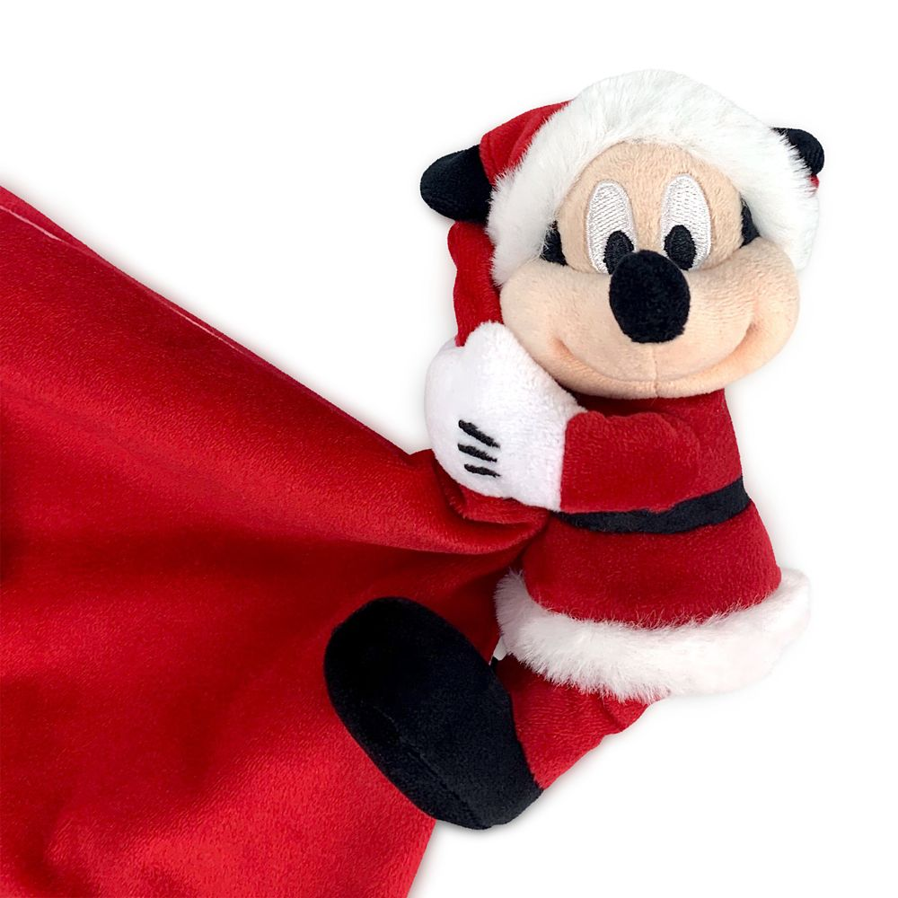 Mickey Mouse ''My 1st Christmas'' Plush Blankie for Baby