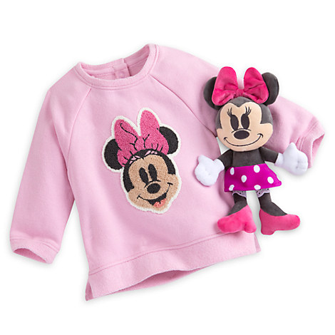 Minnie Mouse Pink Gift Set for Baby