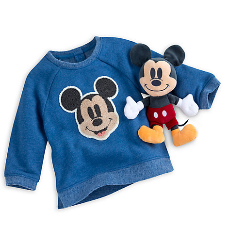Mickey Mouse Blue Gift Set for Baby