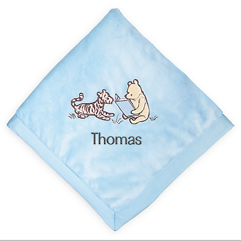 Winnie the Pooh Layette Blanket for Baby - Personalizable