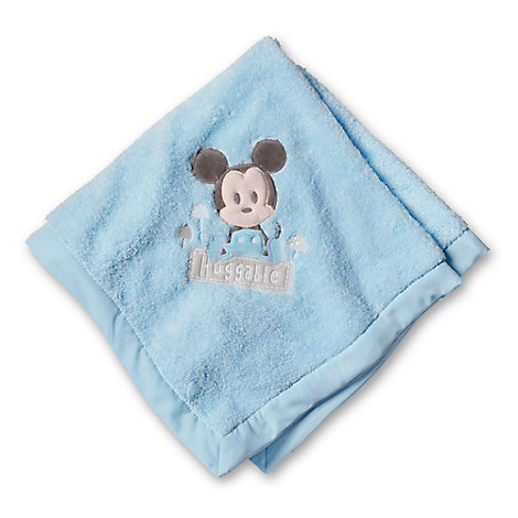 Mickey Mouse Layette Blanket for Baby