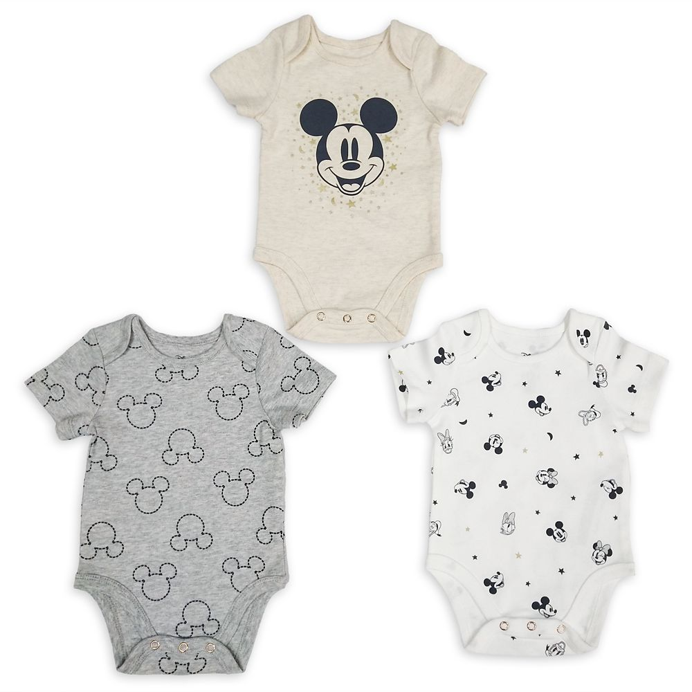 Mickey Mouse and Friends Bodysuit Set for Baby