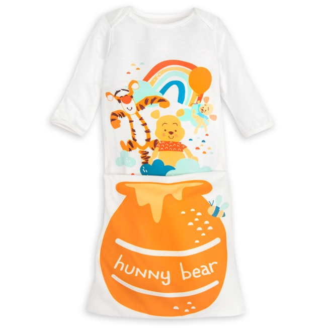 Winnie the Pooh Sleeper Gown for Baby