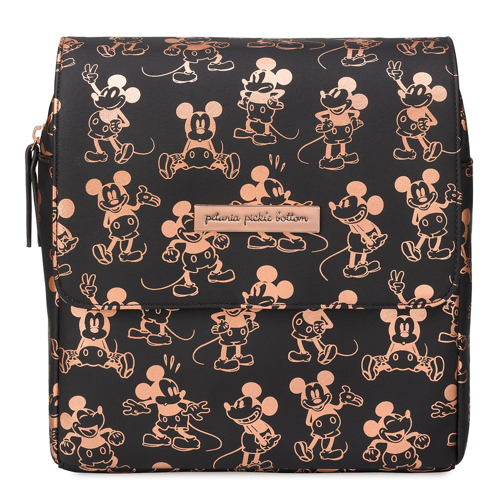 Mickey Mouse Mini Boxy Backpack for Kids by Petunia Pickle Bottom