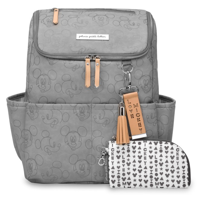 Mickey Mouse Faces Method Diaper Backpack by Petunia Pickle Bottom