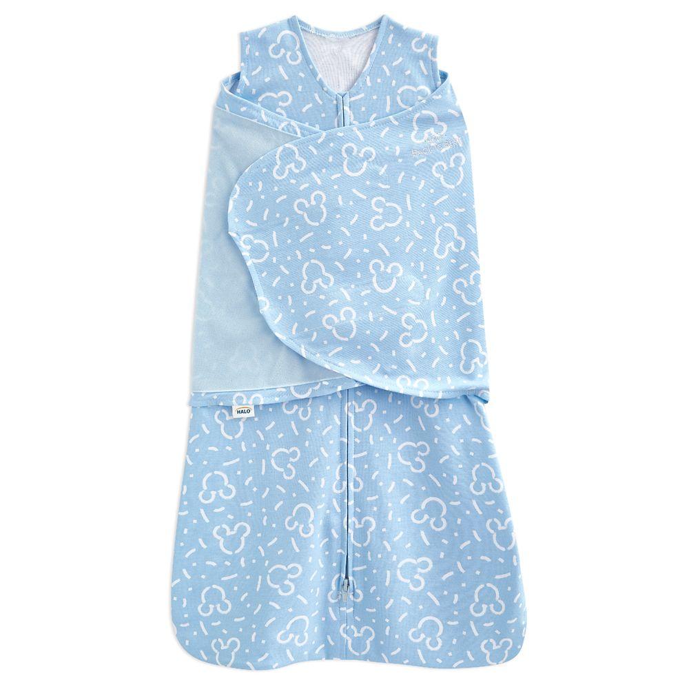 Mickey Mouse HALO SleepSack Swaddle for Baby – Blue